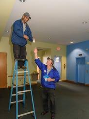 Volunteers of America maintenance worker Terrie Jones,
