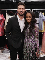Bryan Abasolo and Rachel Lindsay attended the Badgley