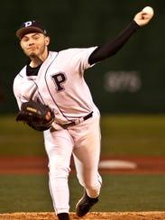 Pleasure Ridge Park starting pitcher Garrett Schmeltz