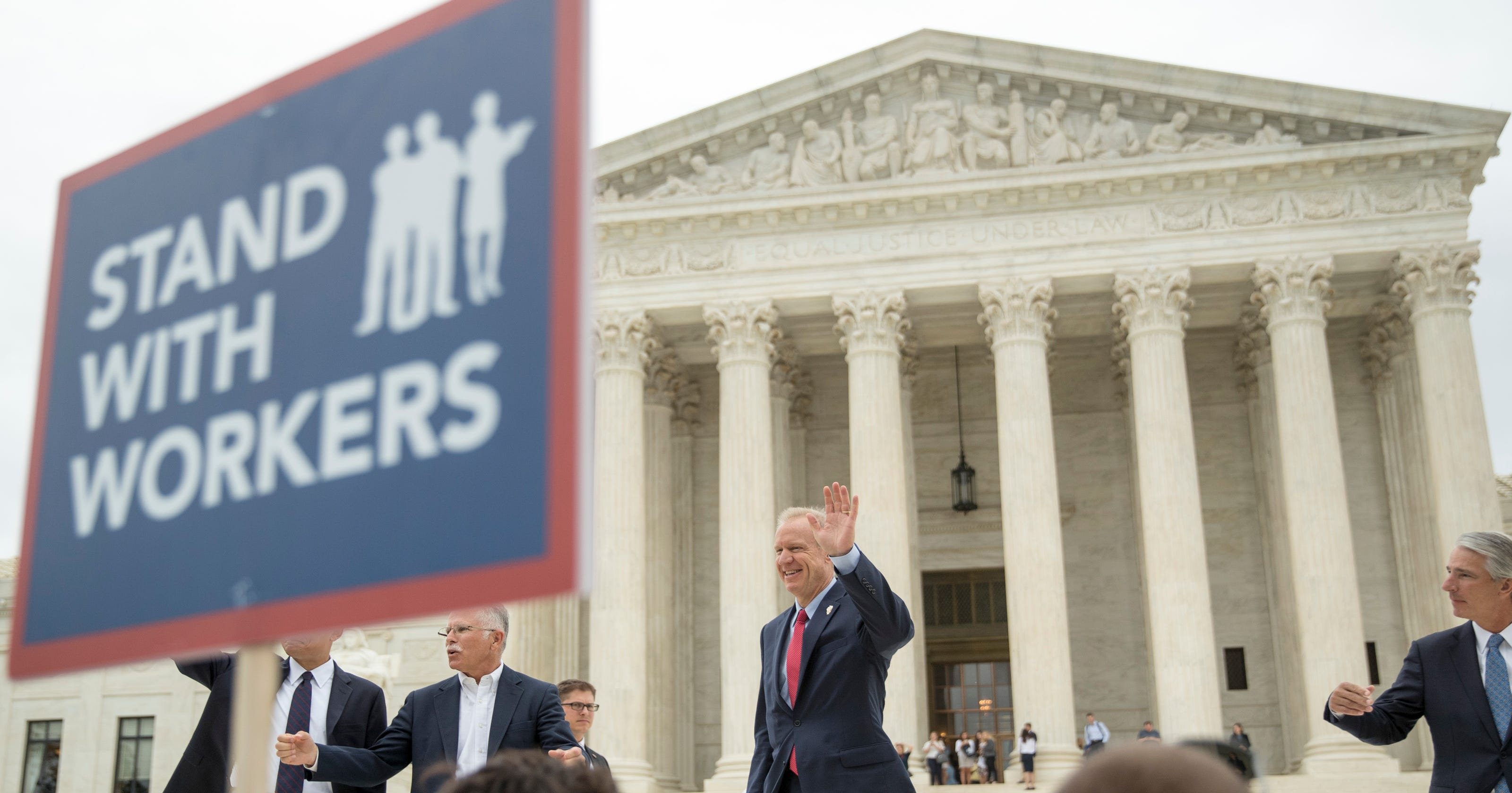 After Supreme Court's Janus decision, unions will start ...