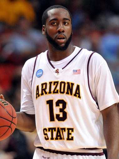 Flip through the gallery to see James Harden through the years.