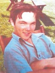 Billy Farr as a teen.