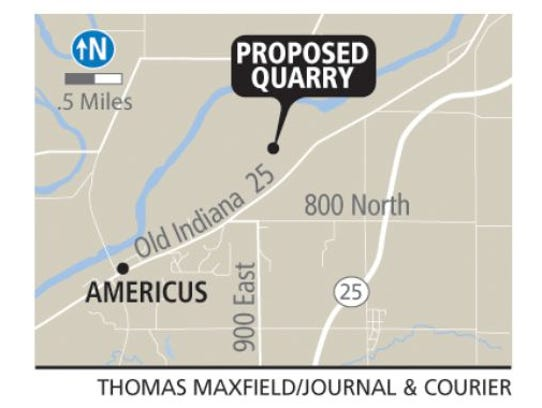 Proposed Quarry Map