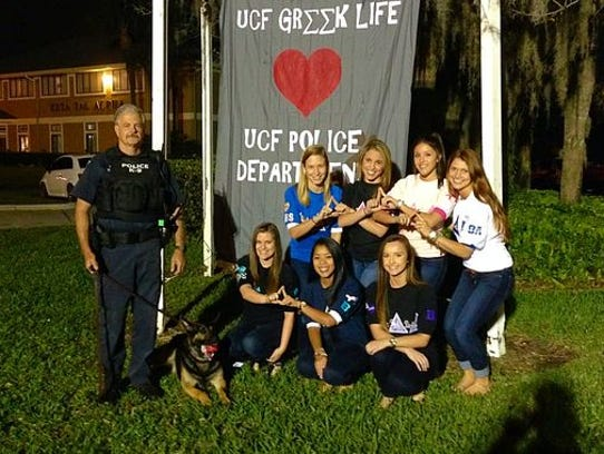 UCF's Delta Delta Delta sorority contributed to purchasing