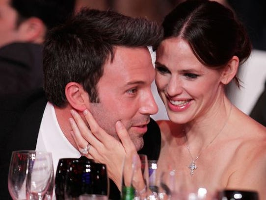 Ben Affleck and Jennifer Garner in January 2011.