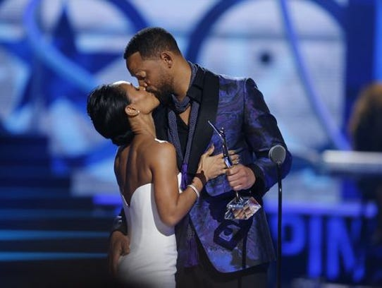 Will Smith and Jada Pinkett Smith in March 2015.