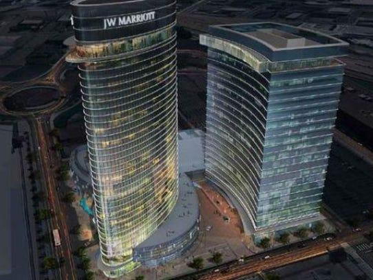 Turnberry Ociates Plans A Jw Marriott Hotel On The
