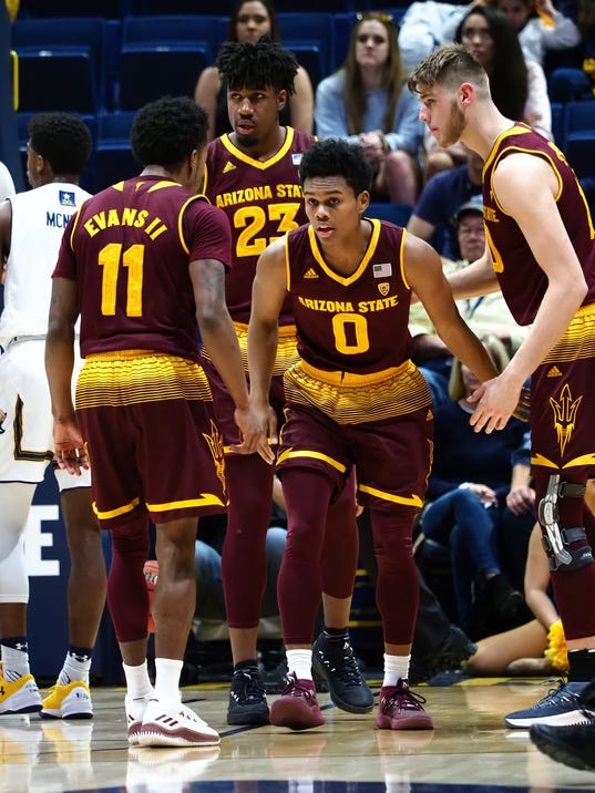 USP NCAA BASKETBALL: ARIZONA STATE AT CALIFORNIA S BKC CAL ASU USA CA