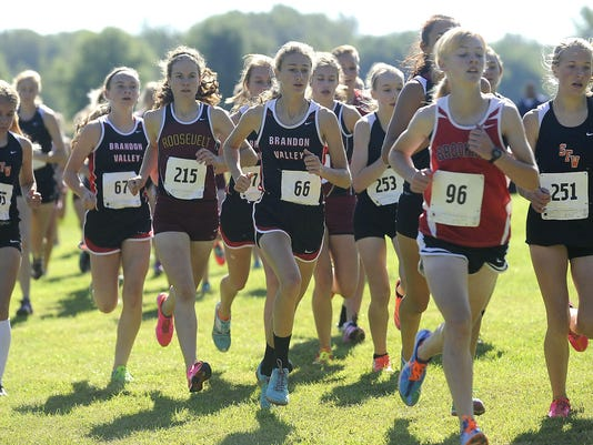 Augustana Meet of Champions - Windrows Field - Cross Country Meet