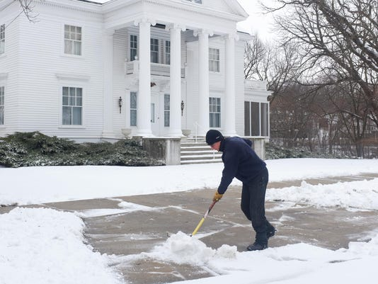 Snow Deters Spring Cleaning