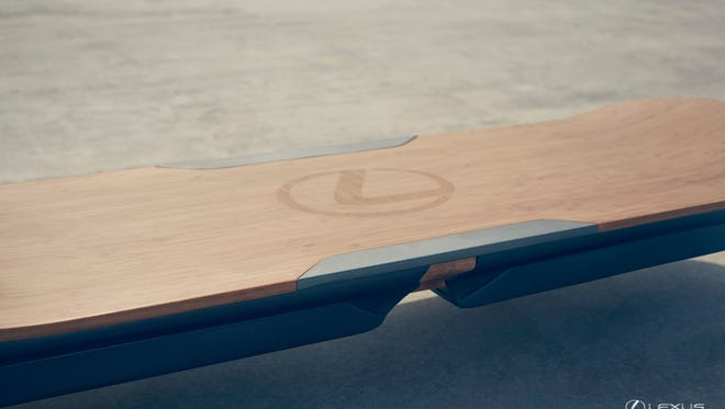 Lexus says this hoverboard will float above the pavement