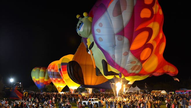 5/28: Cave Creek Balloon Festival   The entire family can enjoy an evening of live music, food, a kids zone and more at the outdoor event. Wine, cocktails and Four Peaks beer are part of the event which features brightly colored balloons taking flight over the driving range.   Details: 5:30-10 p.m. Saturday, May 28. Rancho Mañana Golf Course, 5734 E. Rancho Mañana Blvd., Cave Creek. $12; $7 for ages 12 and younger; free for ages 2 and younger, VIP tickets available; $5 for parking. 480-488-0698, cavecreekfestivals.com.