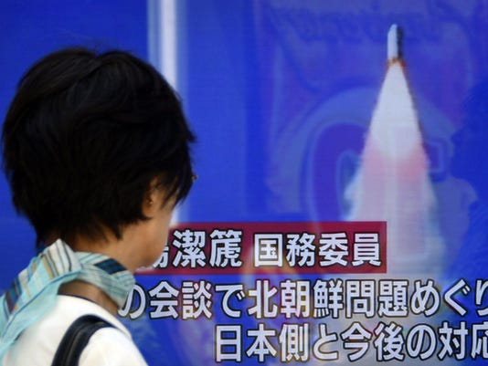 EPA JAPAN NORTH KOREA MISSILE LAUNCH POL DEFENSE JPN TO