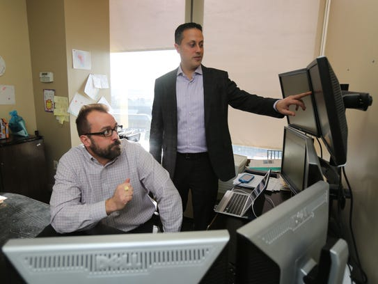 Sean Hendelman, right, the Chief Executive Officer