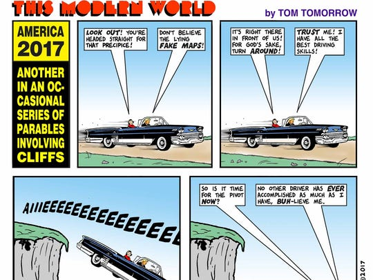 "A Sept. 13, 2017 ""This Modern World"" comic."