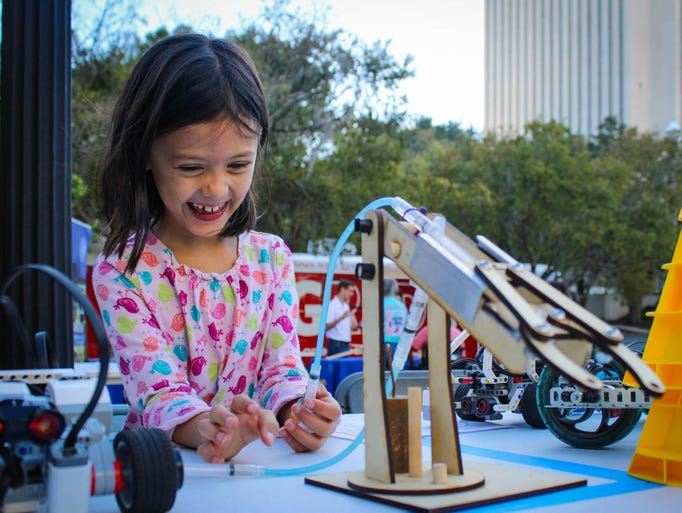 Science enthusiasts of all ages gathered in Kleman
