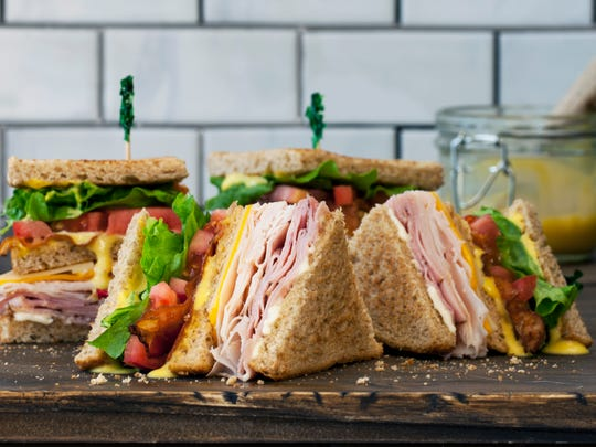 The McAlister's club sandwich.