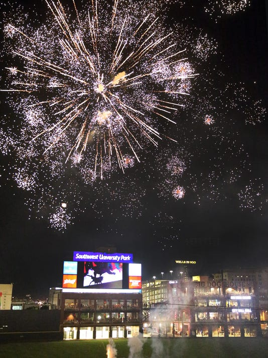 where you can celebrate and see 4th of july fireworks in el paso