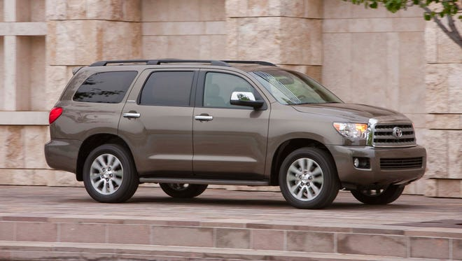 Toyota Sequoia is a SUV that  is not only big, but was found to be safe