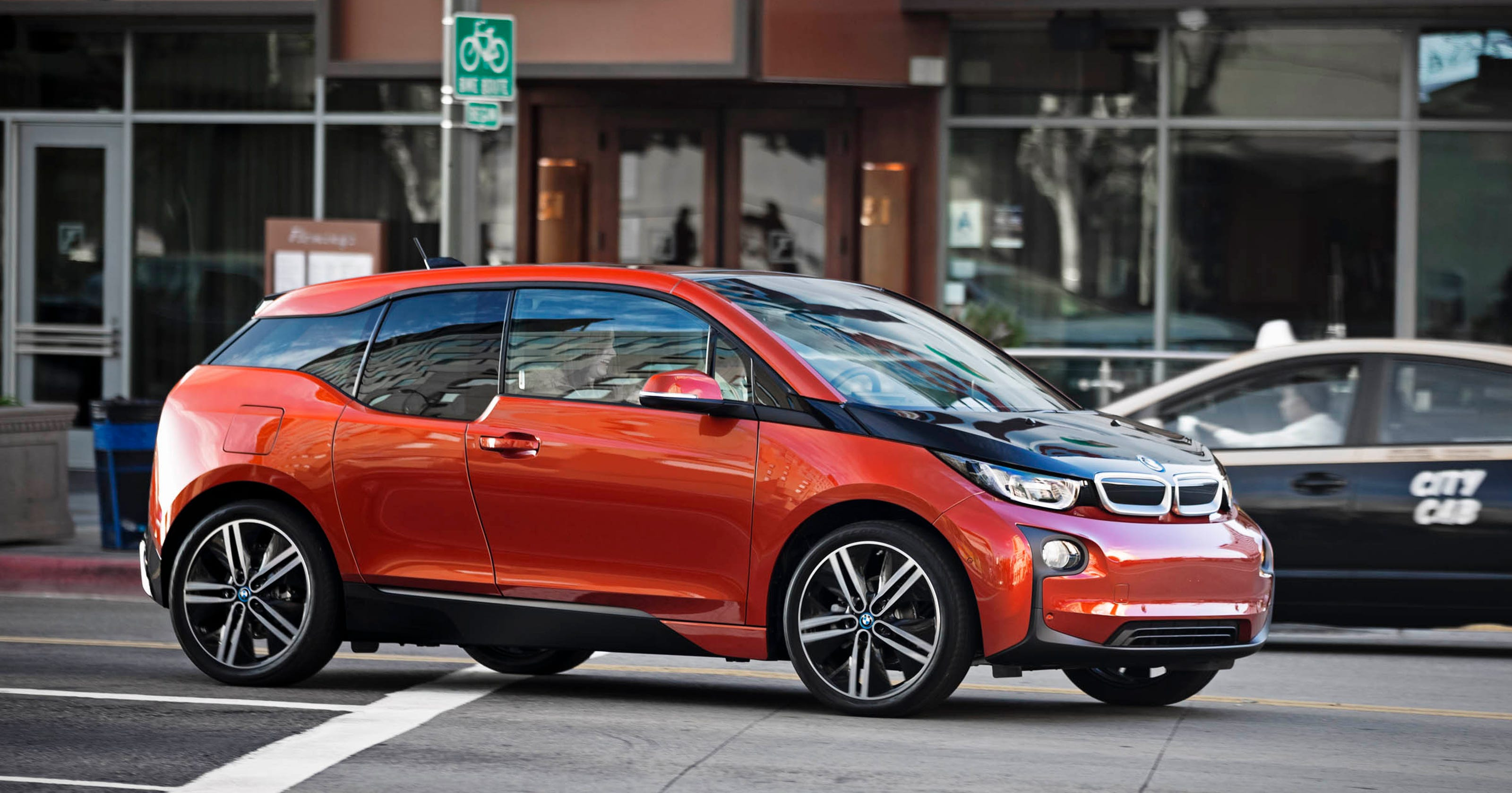 Battery-powered 2014 BMW i3 is fun until you step on the gas