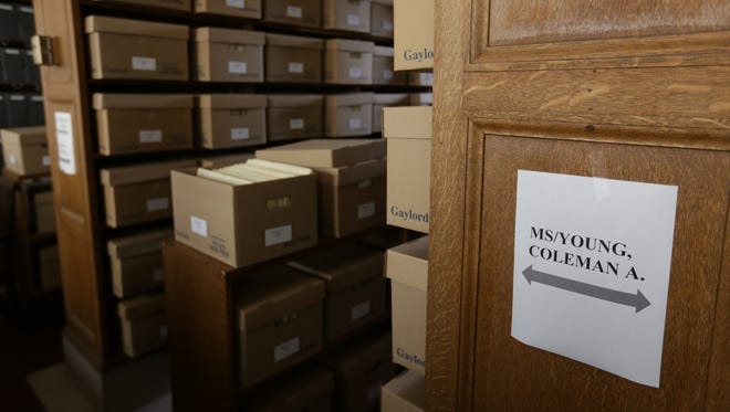 The Detroit Public Library is the official repository for the City of Detroit and will unveil 328 boxes containing the Coleman A. Young mayoral papers Thursday.