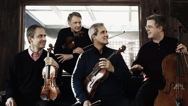 The Emerson String Quartet launch the 2015-16 Princeton University Concerts season on Sept. 24.