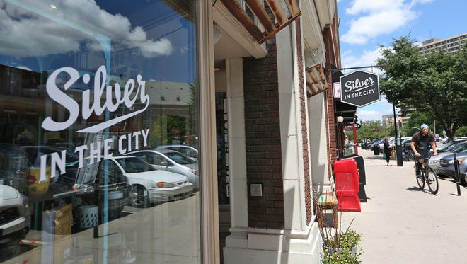 Silver in the City is a boutique located on Massachusetts Ave.