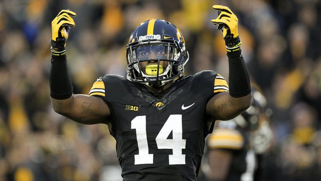 Iowa's Desmond King earned first-team All-America honors at cornerback.
