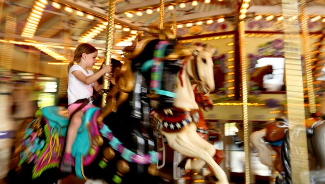 Salem's Riverfront Carousel is offering free rides from noon to 4 p.m. Jan. 1. Donations to the Marion-Polk Food Share are suggested.