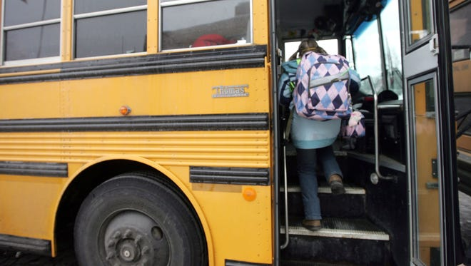 A bill was passed by the House in the Michigan legislatre in Jan. 2016 that requires school buses to have a seating capacity for the number of students being transported. Sponsor: Rep. Adam Zemke, D-Ann Arbor.
