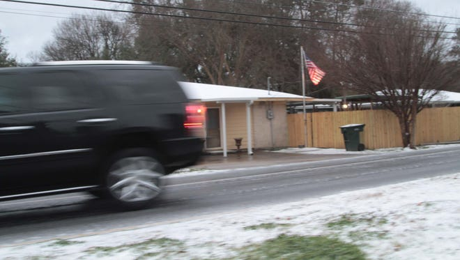Snow is expected to fall in Monroe on Thursday night and Friday morning.