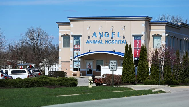 Angel Animal Hospital at Ind. 37 and Bluff Road in Greenwood is among the businesses that could be affected by the choice of Ind. 37 as the final leg of the I-69 extension.
