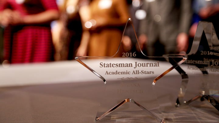 Families celebrate at Academic All-Stars event