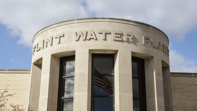 The Flint Water Treatment Plant is seen on Monday March 21, 2016.