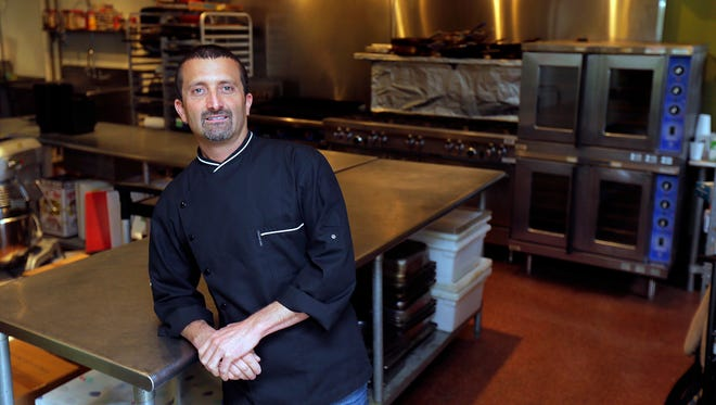 Chris Dutka, owner of Christopher's Kitchen, a catering company in Marlboro, turned to an online lender to find cash to grow his business.