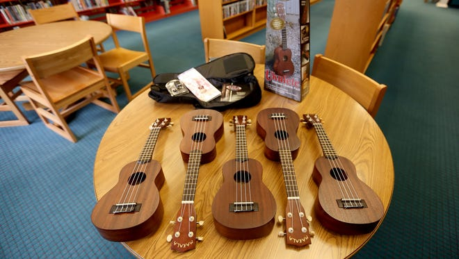 The Salem Public Library has added a ukulele lending program where you can check out one of six instruments for three weeks.