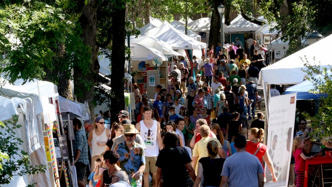 Visit the Salem Art Fair July 15-17 at Bush's Pasture Park.