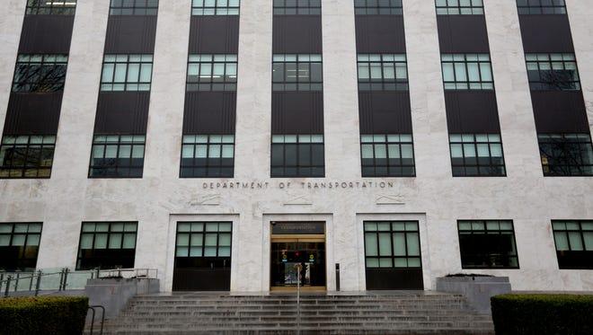 The Oregon department of transportation building.