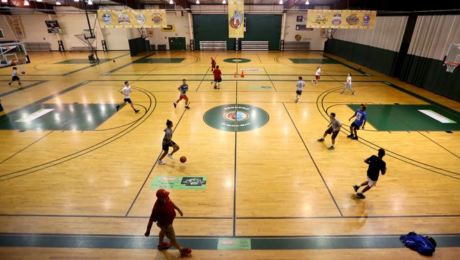 The Hoop, a competitive basketball training facility, in Salem on Wednesday, Sept. 7, 2016.