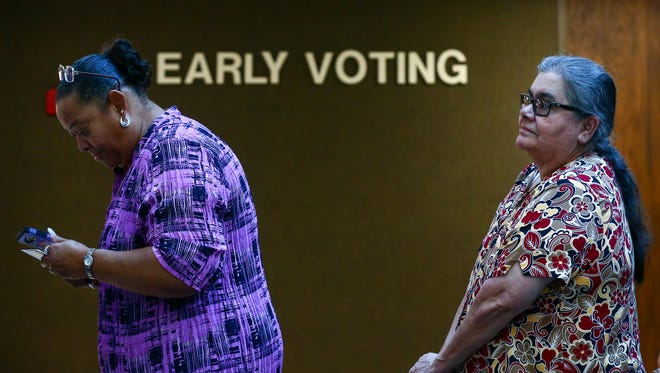 Early voting for the May 22 primary runoffs begins Monday and runs through Friday.