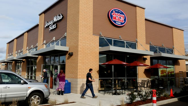Jersey Mike's Subs is open in West Salem. Photographed on Thursday, Nov. 17, 2016.