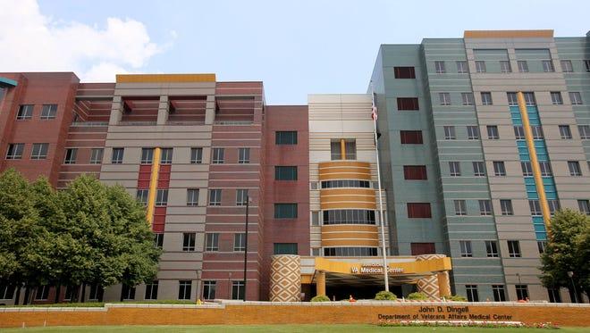 The John D. Dingell VA Medical Center in Detroit.