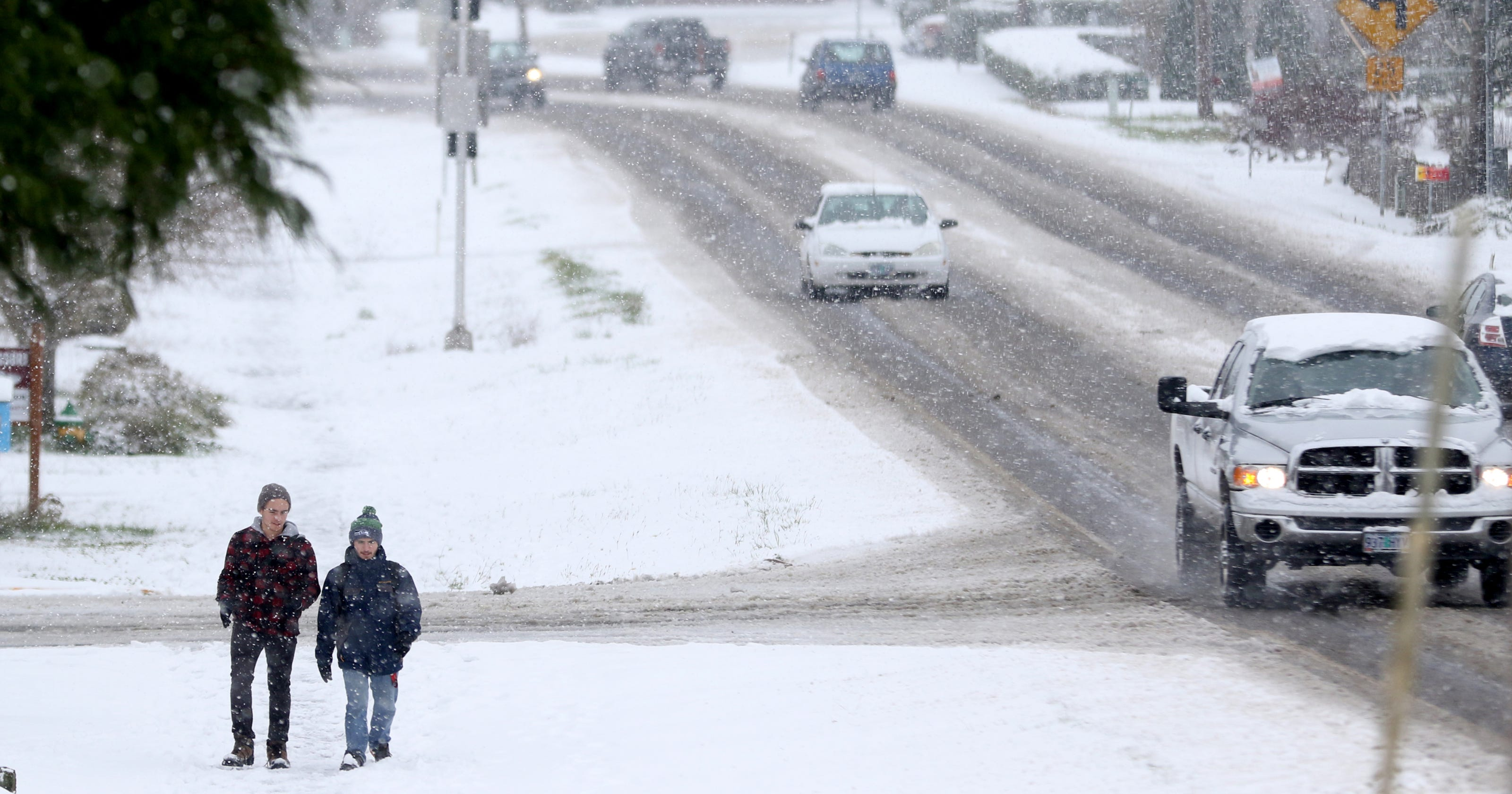 Willamette Valley to get 2-7 inches: Here\'s when snow arrives in Salem