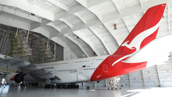 Qantas' new hangar at LAX is billed as the first in