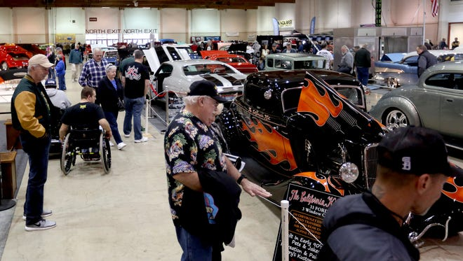 The Salem Roadster Show rolls into the Oregon State Fairgrounds Feb. 18 and 19.