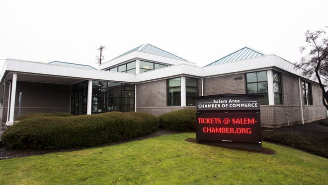 The Salem Area Chamber of Commerce photographed on Wednesday, Feb. 8, 2017.