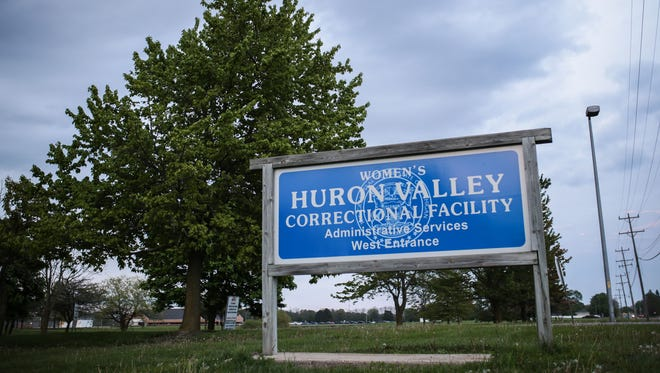 The Women's Huron Valley Correctional Facility in May 2016, in Ypsilanti, MI.