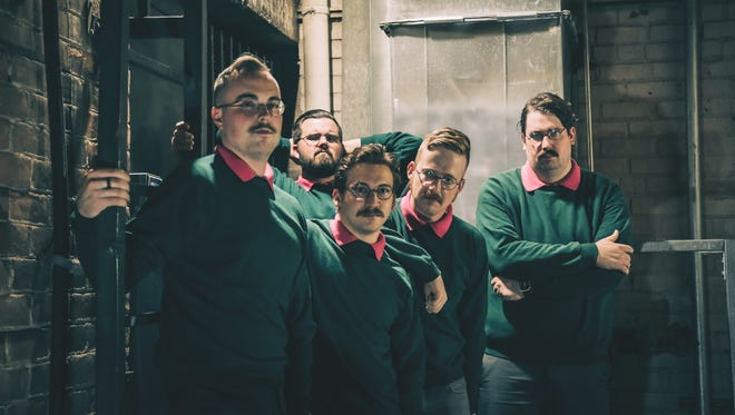 """Sweater-clad and nerdy Ned Flanders of """"The Simpsons"""" inspired the look of metalcore band Okilly Dokilly."""