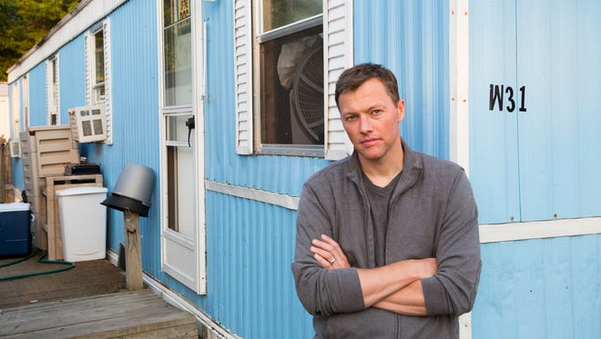 """Matthew Desmond, Pulitzer Prize winning author for his book """"Evicted"""", discussed affordable housing and gentrification at the seventh annual Poverty Forum at UNCA."""