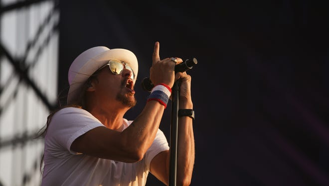 Kid Rock will perform Sept. 21 at Ruoff Home Mortgage Music Center.